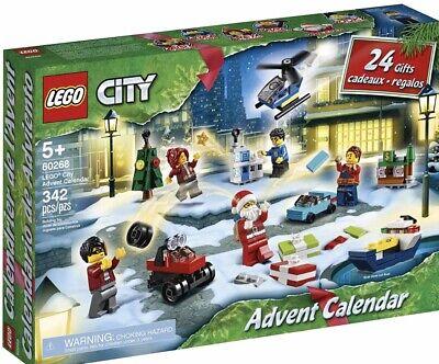 LEGO City Advent Calendar 2020 NEW Ready To Ship Lego 60268 VHTF 24 Gifts Santa