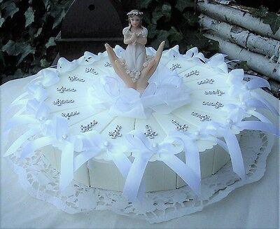 schöne Gastgeschenke Torte Kommunion Mädchen GG0049 online kaufen