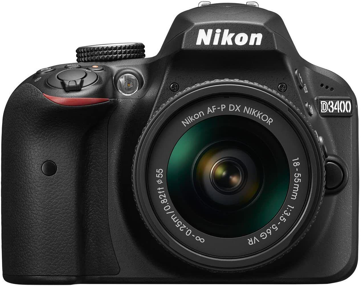 Nikon D3400 Kit AF-P 18-55 Spiegelreflexkamera