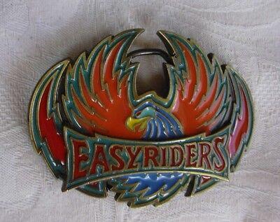 USA Pewter Belt Buckle EASYRIDERS Eagle Tanside Ltd UK  20701991