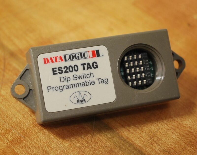 DataLogic ES200 TAG Dip Switch Programmable Tag ES200 - USED
