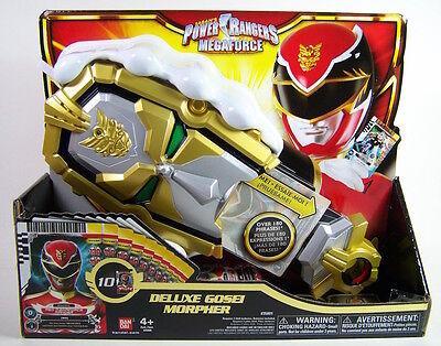 Sabans Power Rangers Megaforce Deluxe Gosei Morpher W 10 Cards  35001 Bandai