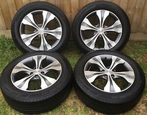 18inch 5stud Alloys+tyres Good condition Dandenong Greater Dandenong Preview