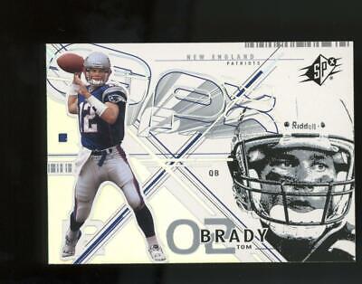 2002 Upper Deck SPX #6 Tom Brady