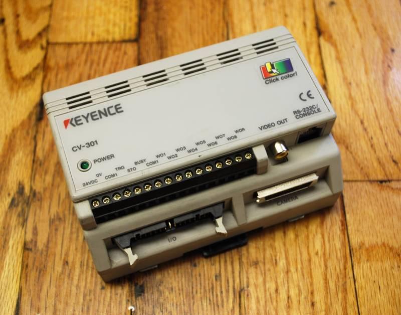 Keyence CV-301 Machine Vision Controller RS-232C - USED