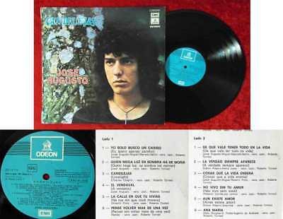 LP José Augusto: Candilejas (EMI Columbia 1 J 062-81808) Spanien 1974