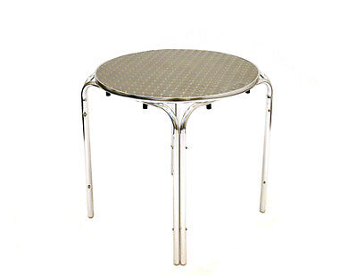 Stacking Aluminium Mobile Catering Tables, Aluminium Tables, Cafe Furniture