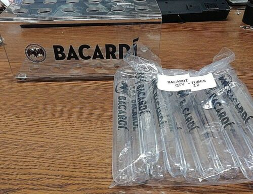 Bacardi Rums Halloween Kit ~ Tooter With Holder ~ Shot Tubes