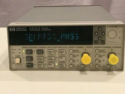 Hpagilent 53131a 225mhz Universal Frequency Counter Fully Tested