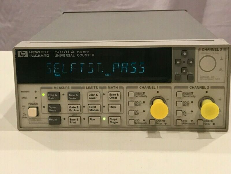 HP/Agilent 53131A 225mhz Universal Frequency Counter Fully Tested