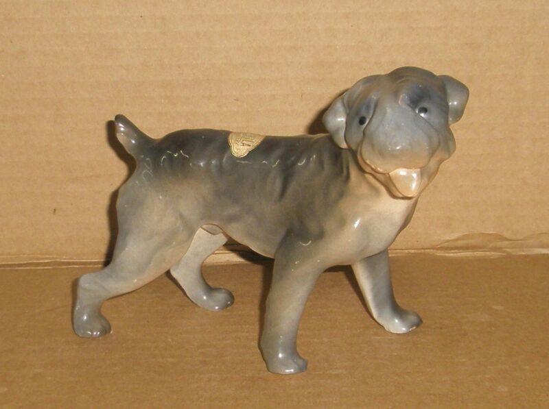 Dog figurine Kerry Blue Terrier/Erphila
