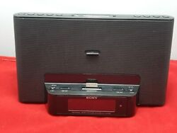 Sony iPhone/iPod Clock Radio Speaker Dock  ICF-CS15iP Dream Machine TESTED