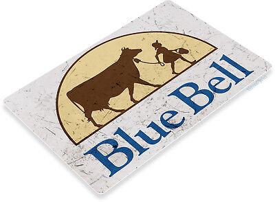 "TIN SIGN ""BlueBell Ice Cream"