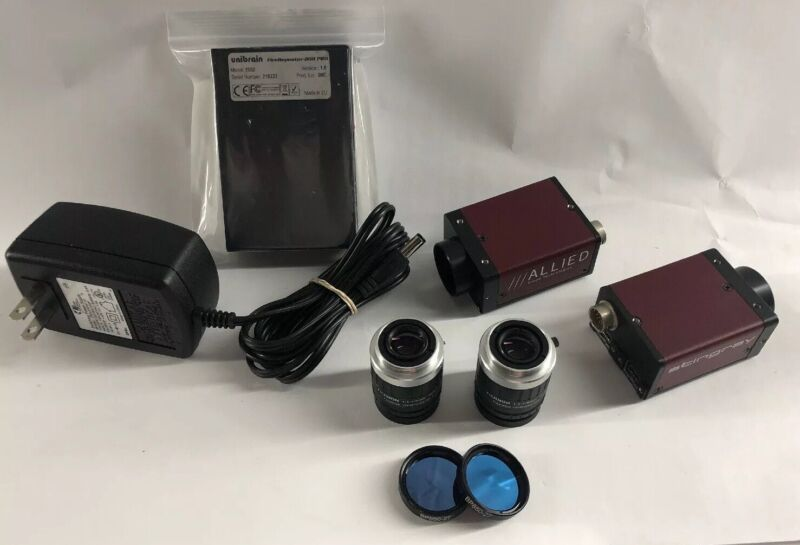 2 Singray Cameras HIGH DEF Optic & 9mm lens & UNIBRAIN Pro Repeater 2502 & more