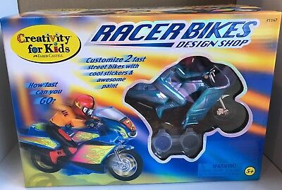 CREATIVITY FOR KIDS - RACER BIKES DESIGN SHOP - Kids Shop Design