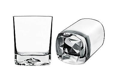 - Luigi Bormioli 6 Piece Double Old Fashioned