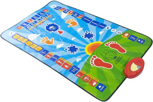 Interactive educational Salah mat for children m. Learning Prayer Mat. (3D Ship)