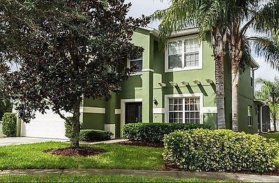 Florida Disney Vacation Rental 5 Bed Room Private Pool Luxury Home