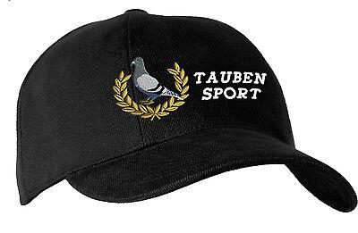 Berretto da Baseball Cappello tappo nero con Ricamo Alloro grigio piccione corsa