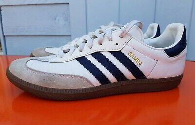 Adidas Samba White Trainers Uk 8 Eur 42