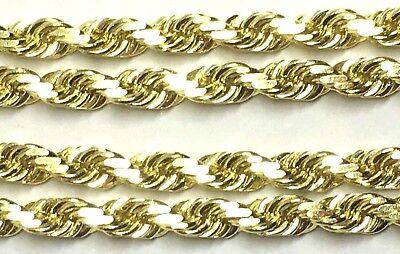 - BIG ROPE CHAIN ,10k Yellow Gold
