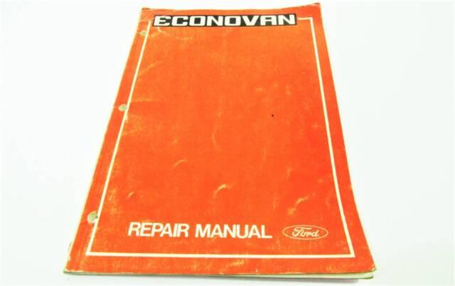 ford econovan workshop repair manual second gen 1977 1983 other rh gumtree com au Ford Econovan Ford Econovan
