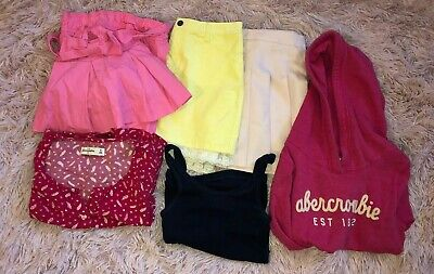 Mixed Clothing Lot Kids Girls Size 11/12 Medium-Abercrombie and More