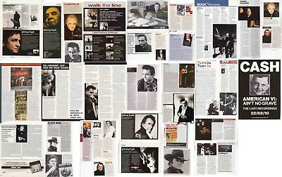 JOHNNY CASH : CUTTINGS COLLECTION -clippings-
