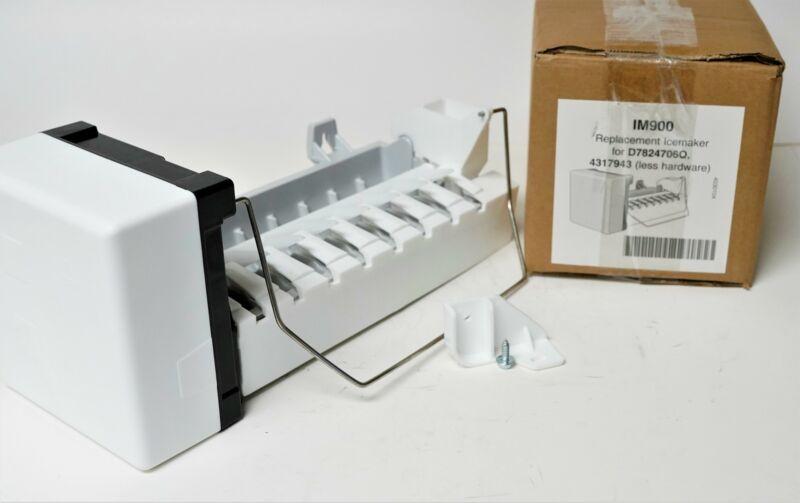 Refrigerator Icemaker for Maytag Amana Jenn Air Whirlpool D7824706Q W10190965