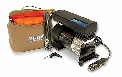 VIAIR 77p Portable 12v Compressor Tire Inflator Fill Kit Illuminated Guage 00077