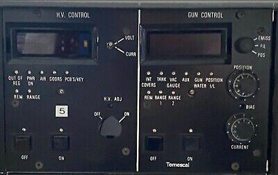 Temescal Hv And Gun Control For Simba Ii Power Supply