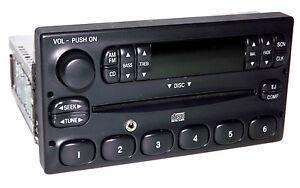 1995-2000 Ford F Series P100 Radio with CD iPod Aux Input F87F18C815CA