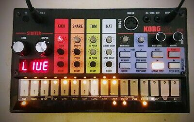 Korg Volca Beats Skin / cover Roland TR 808 style