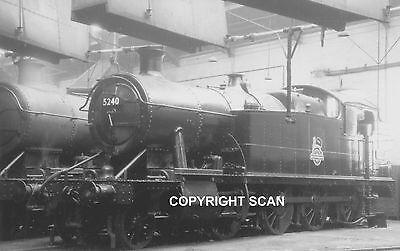 Steam Railway Photo: 5240 Ex GWR CLASS 5205 at ABERDARE in 1952.