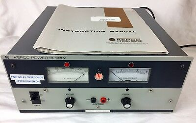 Kepco Aph 500m Power Supply Fully Tested With Original Manual.