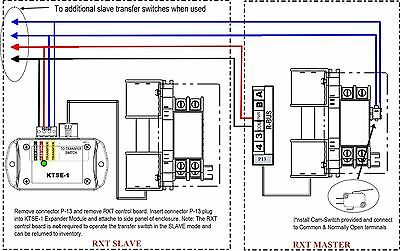 Rxt Series Generator Transfer Switch Expander-connects Two Or More Rxt Switches