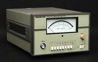 Boonton Electronics 92ea Rf Millivoltmeter Without Probe