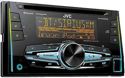 JVC KW-R920BTS Double DIN Bluetooth In-Dash Car Stereo with XM Ready