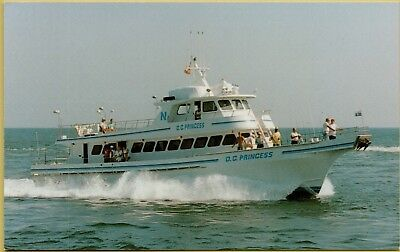 Ocean City O.C. Princess Party Deep Sea Fishing Boat Maryland MD Postcard B11 (Party City Maryland)