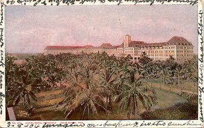 Hotel Royal Poinciana, Palm Beach Florida Undivided Back c1904 Postcard F24
