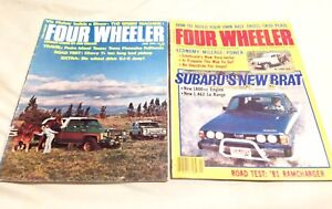 Vintage Four Wheeler Magazines/-Petersen's Wheels Afield