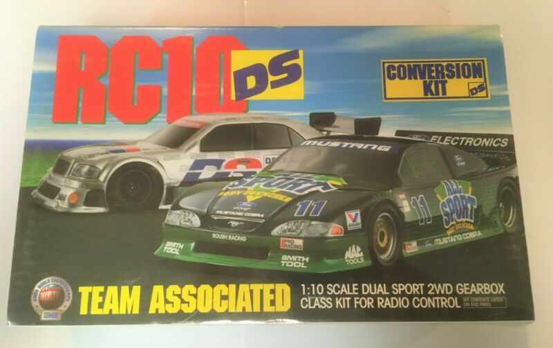 Team Associated RC10 DS 1/10 Scale RC NOS Very Rare Vintage RC10DS