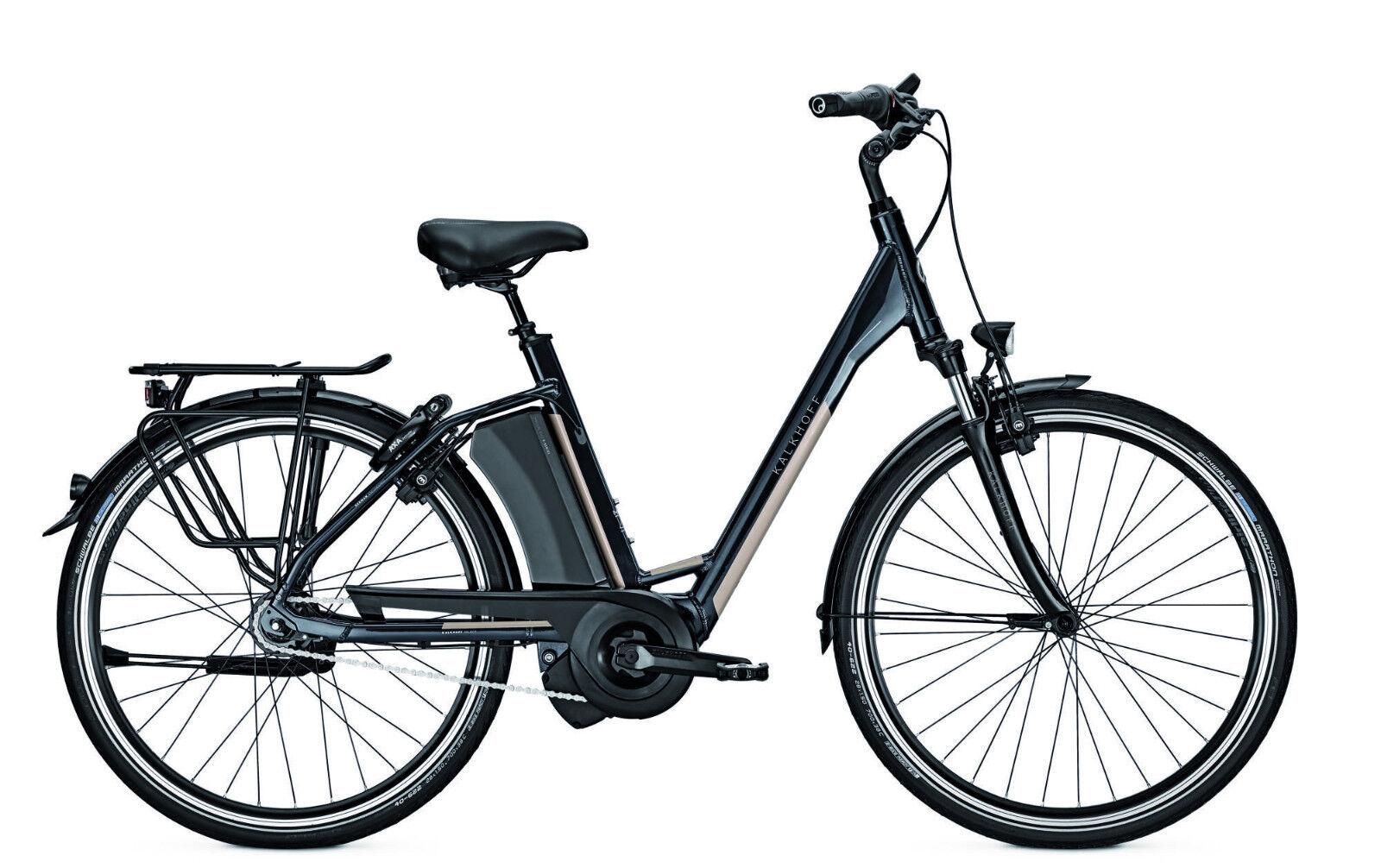 E-Bike Kalkhoff Select XXL i8 bis 170 kg 17.5 Ah 28 Zoll Wave Freilauf # NEU
