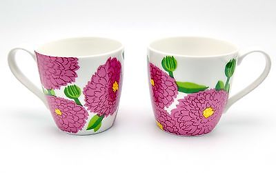 Primavera Iittala Marimekko Mug Floral Lot of 2