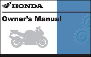 Honda 2006 CBR600RR Owner Manual 06