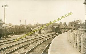 Freshwater Railway Station Photo. Yarmouth and Newport Line. Isle of Wight