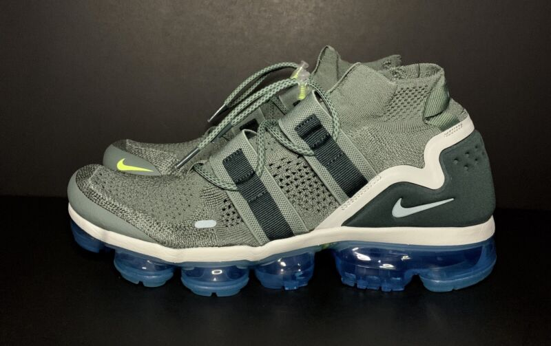 7f1cc197fe5c5 Nike Air Vapormax Flyknit Utility Clay Green AH6834-300 Size 13 ...