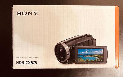 Sony Handycam HDR-CX675 32GB Internal Memory Wi-Fi HD Video Camera Camcorder Kit segunda mano  Embacar hacia Argentina