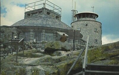 Walkway Whiteface Mountain Castle Weather Observatory Ny New York Postcard E3