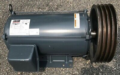 Lincoln 20 Hp Electric Motor 2000440 Volts 3 Phase